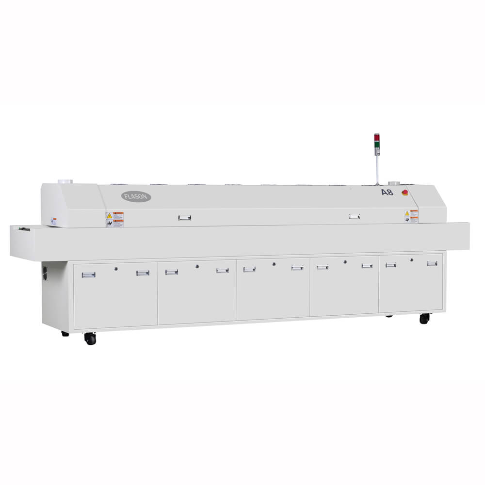 OEM SMT reflow soldering oven for LED PCB production