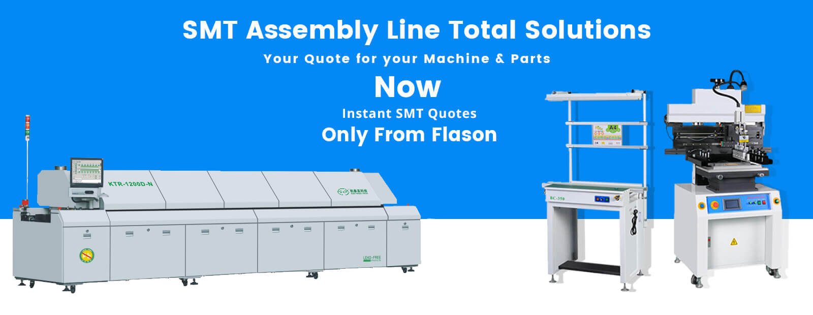 SMT Assembly line machine