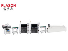 LED Assembly Line/ SMT Assembly Line/ PCBA Line (printer+mounter+reflow oven)