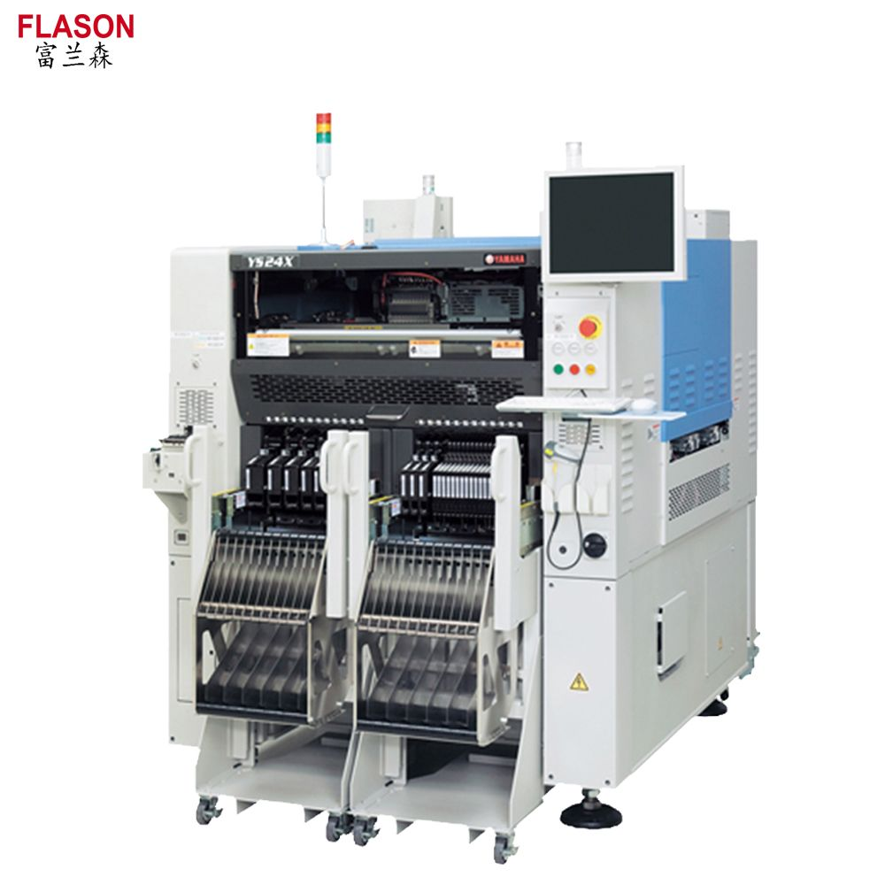 PCB Mounting Machine SMT LED Chip Mounter Yamaha YS24 Automatic Pick and Place Machine