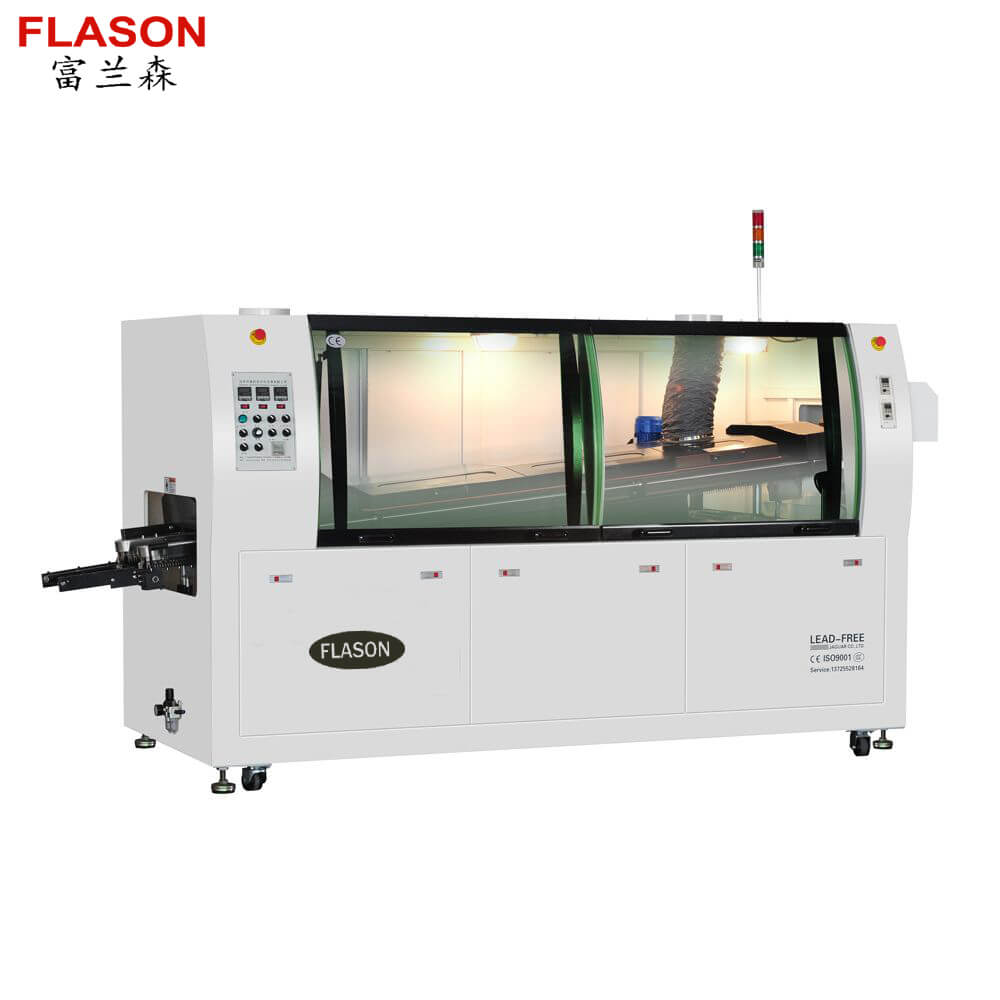 DIP Assembly line Lead Free wave soldering machine