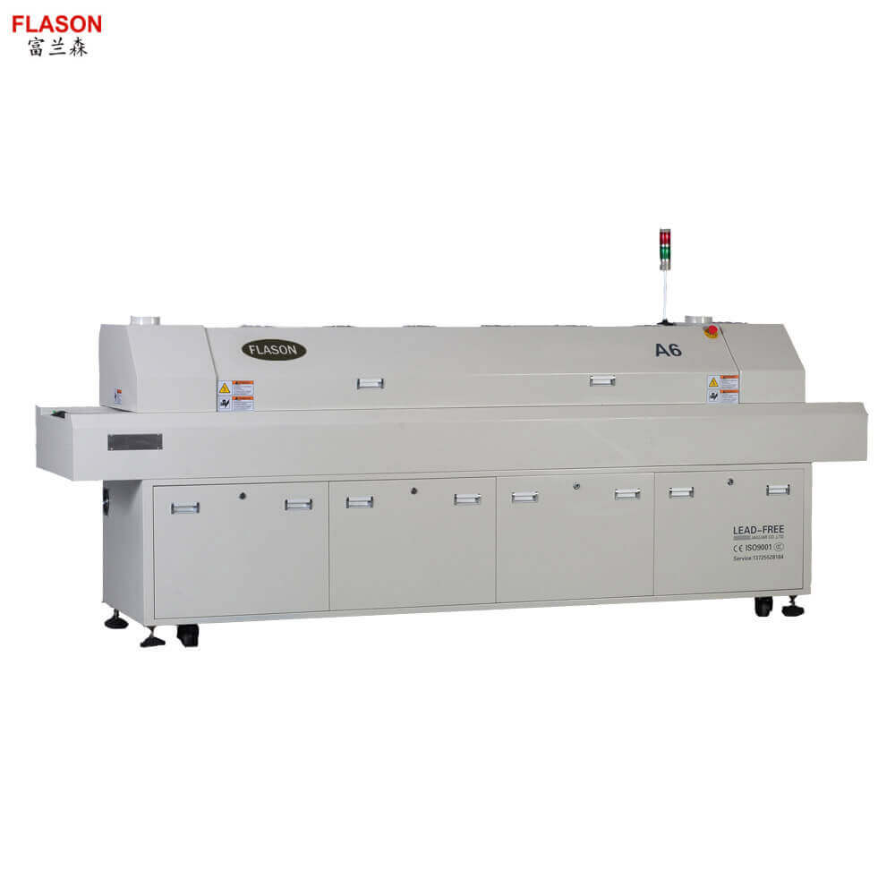 China SMT Assembly line machine PCB Reflow oven Manfuacturer directly price