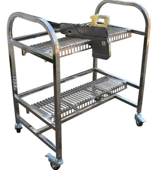 Hatichi feeder storage cart